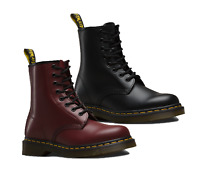 Dr Martens Mens 1460 Smooth Leather Casual Shoes 8 Eyelet Boots Lace Up