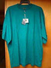 Vintage New Nos Mens Green Chesterfield Short Sleeve Shirt Size Xl