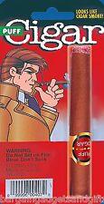 PRETEND FAKE PUFF SMOKING LIT FAKE CIGAR JOKE NOVELTY FUNNY TOY PRANK GIFT
