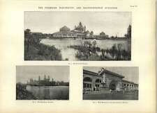 1893 Fisheries Electricity And Transportation Buildings Drawings