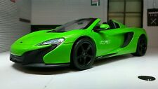G LGB 1:24 Scale McLaren 650S Spider Detailed Motormax Diecast Model Car 79326
