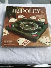 Vintage 1976 Turntable Tripoley Elite Edition 100% Complete Cards and Chips 255