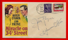 Miracle On 34th Street Xmas Movie Featured on Collector's Envelope *XS1376