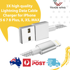 3X high quality Lightning Data Cable Charger for iPhone 5 6 7 8 Plus, X, XS, MAX