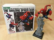 Amazing Spider-Man Unleashed Fine Art Statue Por KOTOBUKIYA MARVEL en Caja 692/1900