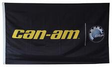 CAN-AM Flag Banner 3x5 ft BRP Bombardier Defender Maverick Commander BLACK