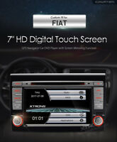 AUTORADIO FIAT BRAVO NAVIGATORE GPS DVD USB SD MP3 BLUETOOTH XTRONS RETROCAMERA