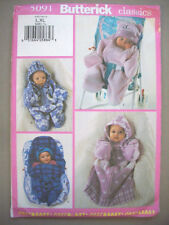 Baby Infant bunting & hat unused pattern 5091 Size L 22-25 lbs   XL 26-29 lbs