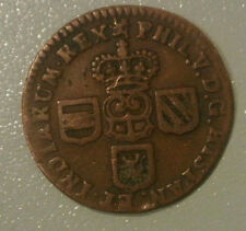 NAMUR DUCHE RARE LIARD 1710 PHILIPPE V