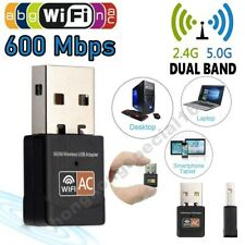 Wireless PC LAN USB WiFi Adapter Network 802.11AC 600Mbps Dual Band 2.4G / 5G #1