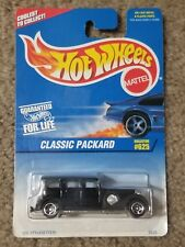 1996 Hot Wheels Classic Packard #625 Black 5sp Rims NIP Diecast 1:64