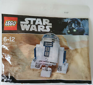 * RARE Polybag collector Star Wars * Lego 30611 *  Neuf / New * R2-D2 *