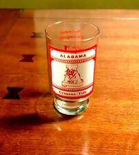 Alabama Crimson Tide Vintage 1979 Glass - Rare