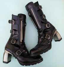 NEW ROCK Ladies Boots USED Good Condition Size UK6/EU39