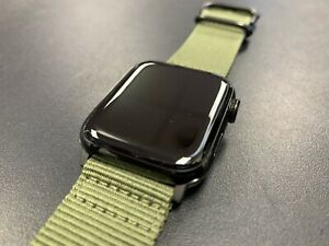 Apple Watch Series 5 Black Stainless 44mm LTE Milanese, NATO, Leather Straps etc