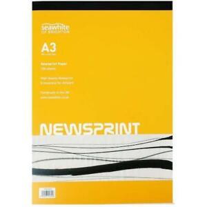 Seawhite Newsprint Pad 100 Sheets