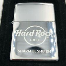 Hard Rock Cafe Zippo Lighter SHARM EL SHEIKH 🇪🇬 - polished Chrome