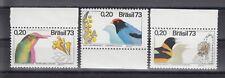 TIMBRE STAMP  3  BRESIL Y&T#1035-37 OISEAU BIRD NEUF**/MNH-MINT 1973 ~B44