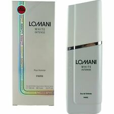 Lomani White Intense Eau De Toilette Spray Perfume For Men, 3.3 oz.