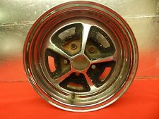 "1 USED Magnum 500 Chromed Steel Wheel 14""x6"" x 4 3/4"" Bolt Circle 2"" Bore"