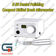 K-30 CUBE MICROMOTOR WITH POLISHING HANDPIECE 30,000 RPM. Excellent Quality & $