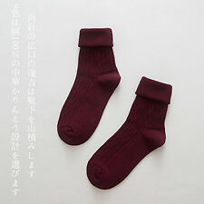 Women Men Casual Warm Thick Cotton High Sports Socks Design Fashion Dress Socks