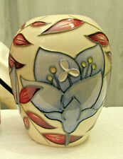 Moorcroft 2004 Jacobs Ladder Vase by Alicia Amison - 9.2cm -VGC