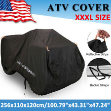 "XXXL 100"" Waterproof ATV Cover Universal Fits Polaris Honda Yamaha Can-Am Suzuki"