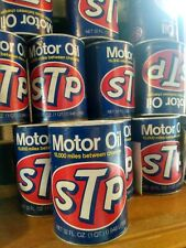 Vintage STP Oil Can Empty