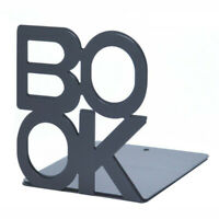 Heavy Duty Metal Letter Bookends Book Ends Office Supplies Stationery 1Pair DL5
