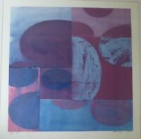 Charles Arnoldi XIV 7/15 Abstract Art Signed & Numbered Lithograph 2001 RARE