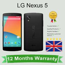 Unlocked LG Google Nexus 5 D821 Android Mobile Cell Phone 32GB Black SIM FREE