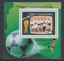 XG-T230 LIBYA - Football, 1986 Mexico '86 World Cup, Libyan Team MNH Sheet