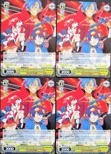 8x We Are Team GURREN! - Weiss Schwarz Promo - 8 MINT CARDS