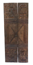 Porte de grenier Baoulé 165 x 66 cm art africain 754