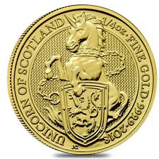2018 Great Britain 1/4 oz Gold Queen's Beast (Unicorn of Scotland) Coin .9999