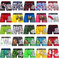 Mens Explicit Designer Rude Novelty Boxer Trunks Funny Gift Underwear 2018 Style