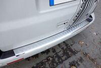 Für Volvo XC-60 Facelift Ladekantenschutz Edelstahl Abkantung Matt gebürstet