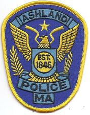 **ASHLAND MASSACHUSETTS POLICE PATCH**