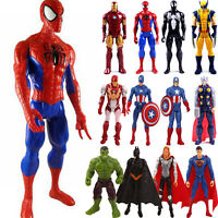 Avengers Marvel Figures Captain America Superhero Hulk Spideman Kid's Boys Toys
