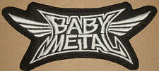 BABY METAL - LOGO Embroidered PATCH X-JAPAN JAPANESE FEMALE METAL