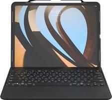 "ZAGG - Rugged Book Go Keyboard Folio Case for Apple® iPad® Pro 12.9"" - Black"