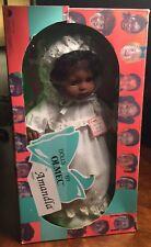 """Dolls by Olmec™️ Amandla 15"""" AA Baby Doll Pkg Art Design by Floyd Cooper"""