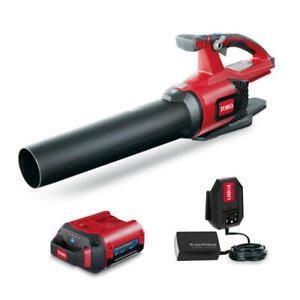 Toro 51821 110 mph 565 CFM 60 V Battery Handheld Leaf Blower Kit (Battery &