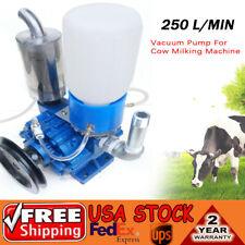 1X Vacuum Pump For Cow Milking Machine Milker 1440 r / min fast speed Milking