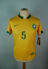 NEW WITH TAGS - BRAZIL home World Cup 2006 shirt Nike #5 EMERSON - sz M Vintage