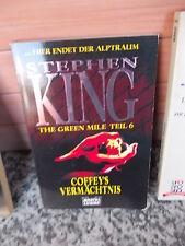 The Green Mile Teil 6, von Stephan King, aus dem Bastei Lübbe Verlag.
