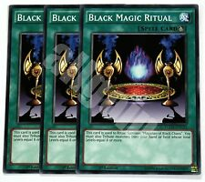 YGLD-ENC32 3x BLACK MAGIC RITUAL (RITO MAGIA OSCURA) Common