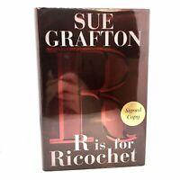 1st Edition/1st Printing SIGNED Fine/Fine R is For Ricochet Sue Grafton