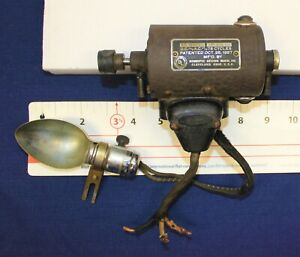 Vintage Domestic Sewing Machine Motor and Light, Motor 65W TESTED and Working